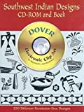 Southwest Indian Designs CD-ROM and Book (Dover Electronic Clip Art)