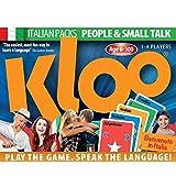 KLOO Learn to Speak Italian Games - People & Small Talk - Pack 1 (Double Deck)