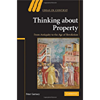 Thinking about Property: From Antiquity to the Age of Revolution (Ideas in Context Book 90) (English Edition)