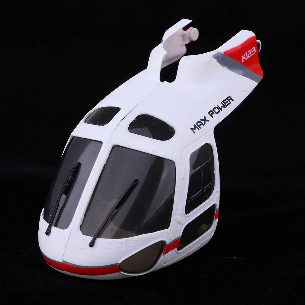 XK.2.K123.018 Head Cover Shell for Wltoys V931 Brushless RC Airplanes Models