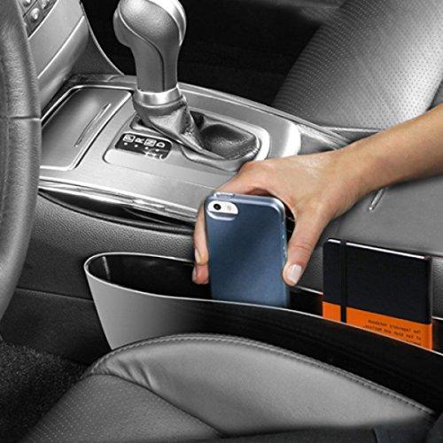Drop Stop Auto-Sitzablagefach Organizer 2er Pack Utensilientasche fürs Auto
