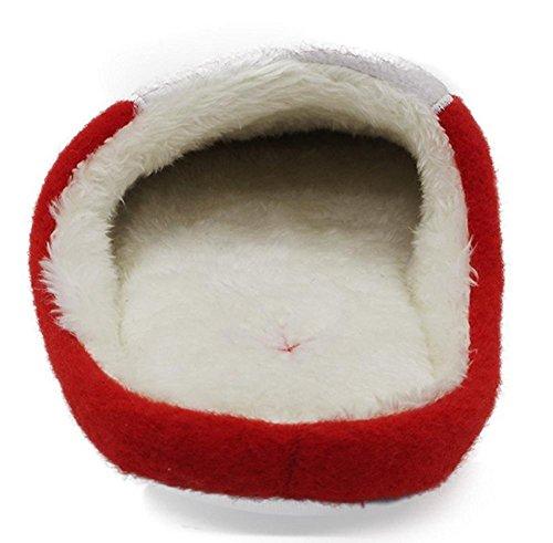 Semelle on Antidérapant Enfant Doux WDGT Peluche Chaussons Slip Noël Homme Femme Pantoufles Cadeau Fille 002 Adulte Noël Garçon Père xPP0wqTYHf