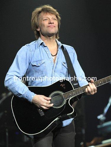 "Bon Jovi 8""x10"" Color Photo -"