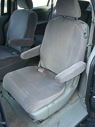 Durafit Seat Covers, H2276 Black Velour 2005 2008 Honda Odyssey Middle  Exact Fit Seat