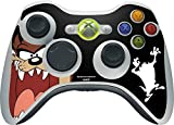 Looney Tunes Xbox 360 Wireless Controller Skin - Taz Vinyl Decal Skin For Your Xbox 360 Wireless Controller