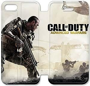 Klreng Walatina® Funda iPhone 6 6s Plus 5.5 pulgadas Funda de cuero Call Of Duty N6C2Wv
