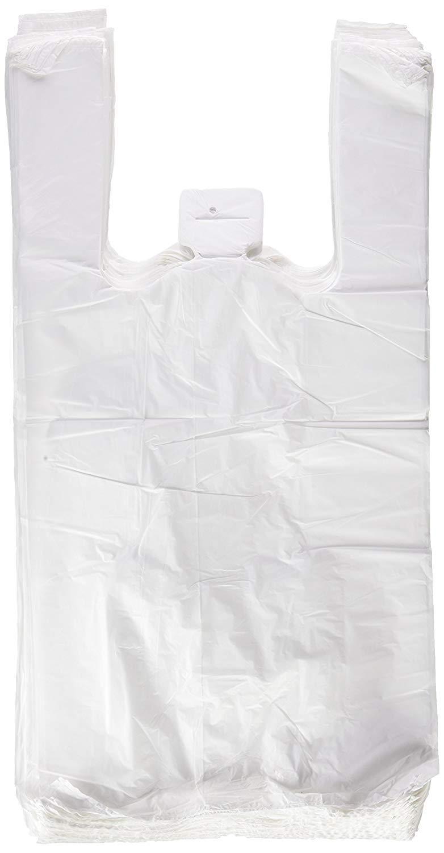 5 x 200 Unidades 40 x 50 cm, 1000 x Bolsas de Plastico Asa Camiseta