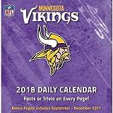Minnesota Vikings 2018 Calendar