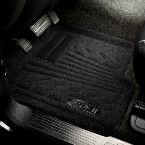 Lund 783094-B Catch-It Carpet Black Rear Seat Floor Mat Set of 2