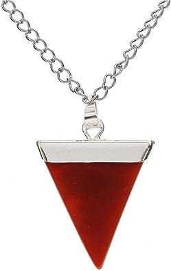 Brand New carnelian Gemstone Pendant Quartz Crystal Necklace Healing Stone