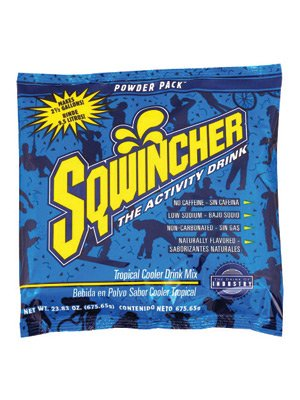 Cooler Sqwincher Tropical (Sqwincher 23.83 Oz Pack Tropical Cooler Electrolyte Drink. (32 Each))