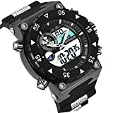 SPOTALEN Men's Sports Watch, Military Digital Analog Multi-functional Watch with LED Backlight