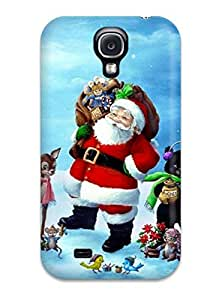Defender Case For Galaxy S4, Christmas 3ds Pattern