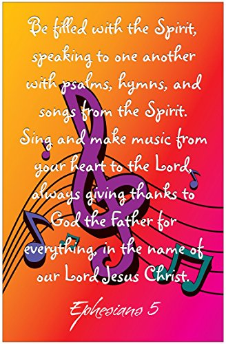 Christian Music Posters - Music Inspirational Christian Poster-D74