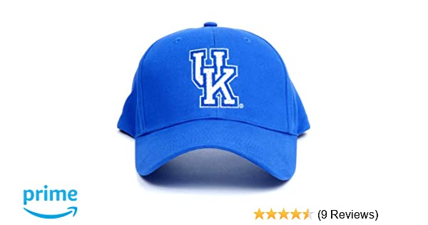 detailed look 7f24b b8a96 Amazon.com   NCAA Kentucky Wildcats LED Light-Up Logo Adjustable Hat    Sports Fan Baseball Caps   Sports   Outdoors