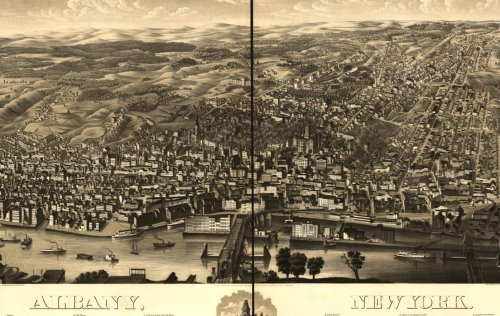 Historic Panoramic Maps of New York I on CD