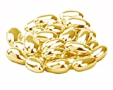Gold Sugared Almonds Wedding Favours 500g Bag
