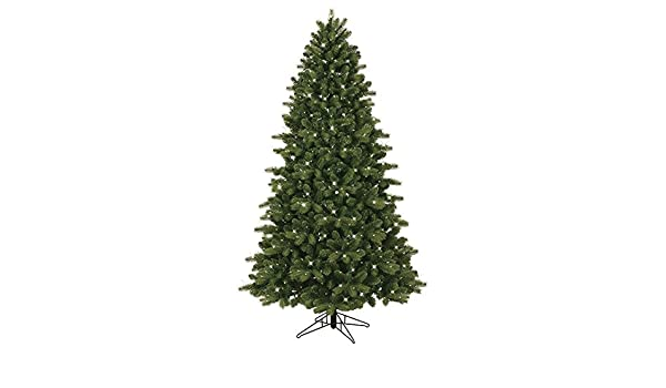 2563afa6eca Amazon.com  GE 7.5-ft Pre-lit Colorado Spruce Artificial Christmas Tree  with 500 Constant Clear White Incandescent Lights  Home   Kitchen