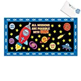 Paper Mission of Faith Bulletin Board Set (With Sticky Notes)