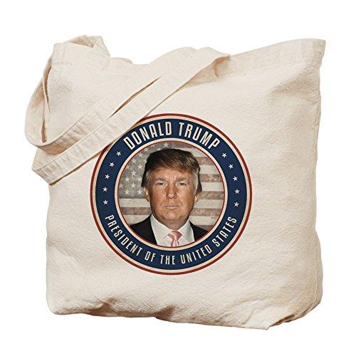 CafePress voto–Donald Trump Presidente–Gamuza de bolsa de lona bolsa, bolsa de la compra