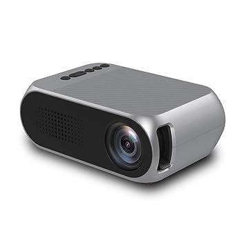 Xwly-Dr Mini proyector, LED proyector portátil de Bolsillo Pico ...