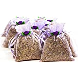 Zziggysgal French Lavender Filled Beautiful Sachets in BULK - 12 Pack