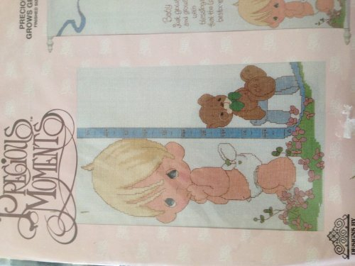 - Precious Baby Just Grows Growth Chart Cross Stitch Kit