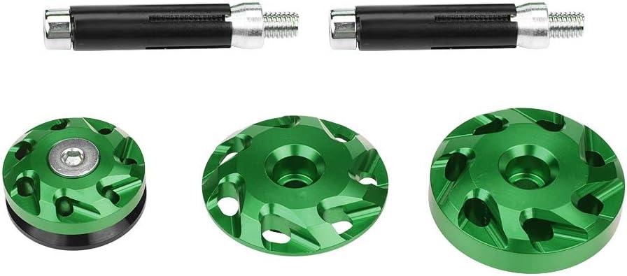 vert couverture pour Z1000 1000 Z1000S Z1000SX Qiilu Capuchon d/écoratif de trou de cadre de moto