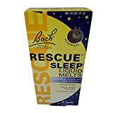 Bach Rescue Sleep Liquid Melts, Dissolvable Capsules 28 ea ( Pack of 6 )