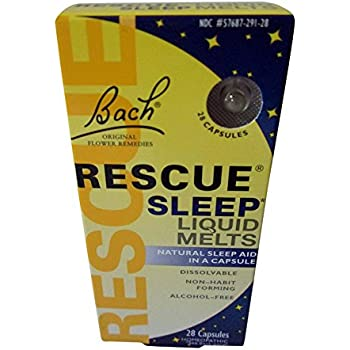 Amazon Com Rescue Sleep 20 Ml Bach Flower Essences Health