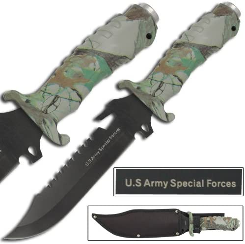 US Army Extreme SpecOps Combo Knife Camo