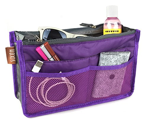 Hoxis Purse Insert Organizer, Expandable,10.6