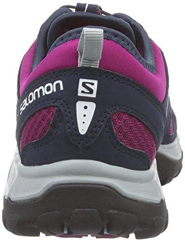 Salomon Ellisse Sportiva Damen Traillaufschuhe Violett (mistico Viola / Blu Profondo / Vapou Acqua)