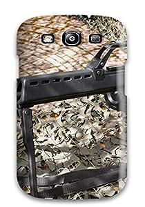 monica i. richardson's Shop Best 4086693K98080552 Tpu Case Cover For Galaxy S3 Strong Protect Case - Machine Gun Design