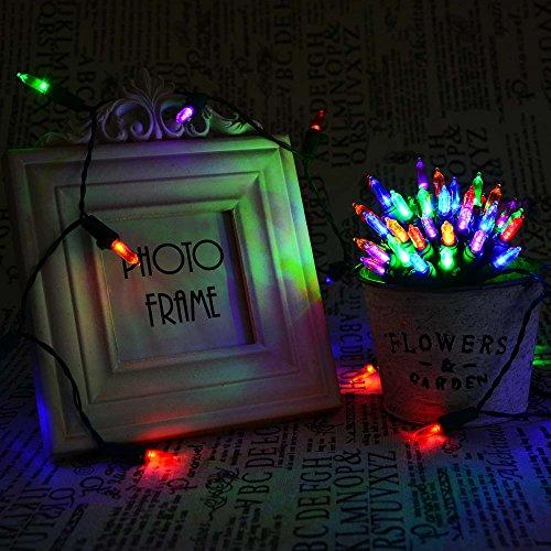 Qedertek Christmas Battery String Lights 50 LED 13.1ft