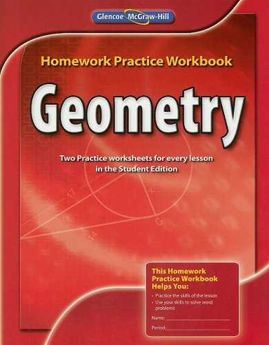 Download By McGraw-Hill Education Geometry, Homework Practice Workbook (1st Edition) pdf
