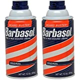 Barbasol Original Thick and Rich Cream Men Shaving Cream, 10 Ounce (Pack of 2)