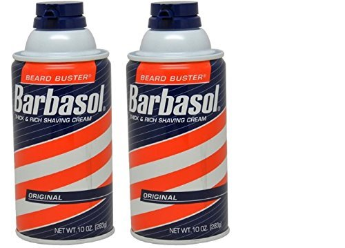 Barbasol Original Thick and Rich Cream Men Shaving Cream, 10