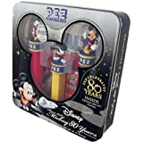 PEZ COLLECTIBLES--Mickey 80 Years Collection with Vintage Mickey Poster by PEZ Candy by Pez Candy