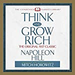 Think and Grow Rich: The Original 1937 Classic | Napoleon Hill,Mitch Horowitz