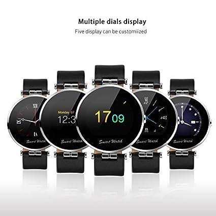 Amazon.com: Reloj inteligente teléfono bluetooth muñeca ...