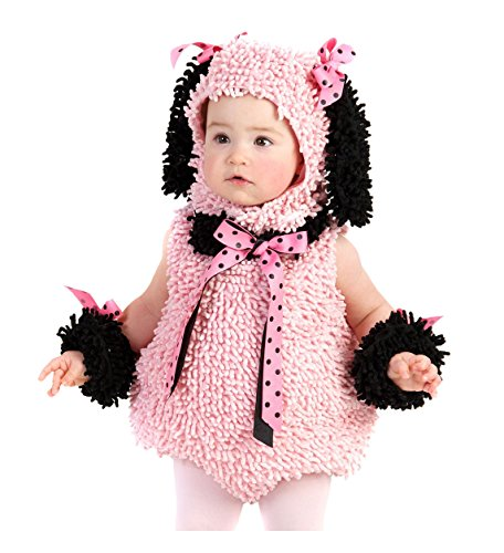 Pinkie Poodle Toddler And Baby Costumes (Pinkie Poodle Costume - X-Small)