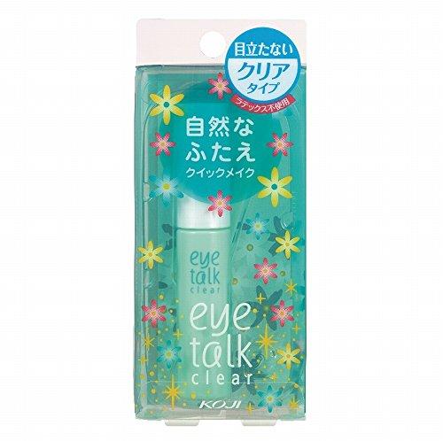 Koji Eyetalk Double Eyelid Adhesive Glue-Clear Type, 7ml (Double Eyelid Glue)