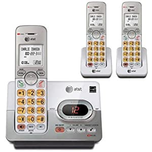 AT&T EL52303 3-Handset Cordless Answering System with Caller ID/Call Waiting