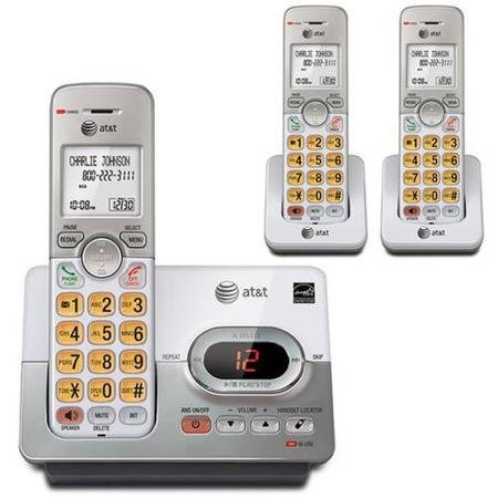 AT&T EL52303 3-Handset Cordless Answering System with Caller ID/Call Waiting by generic AT&T
