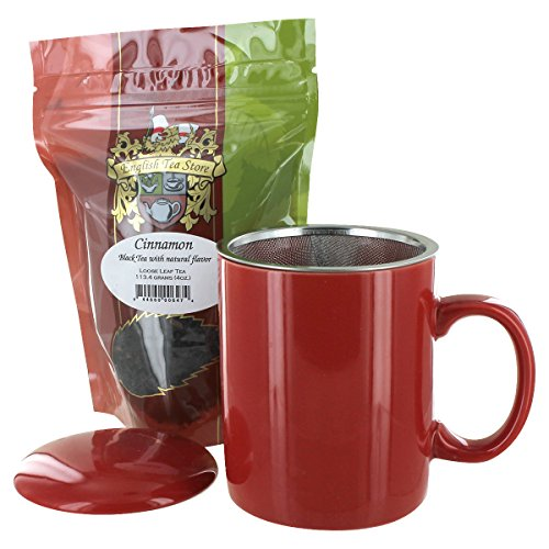 Teaz Café Mug with Cinnamon Tea Gift Set