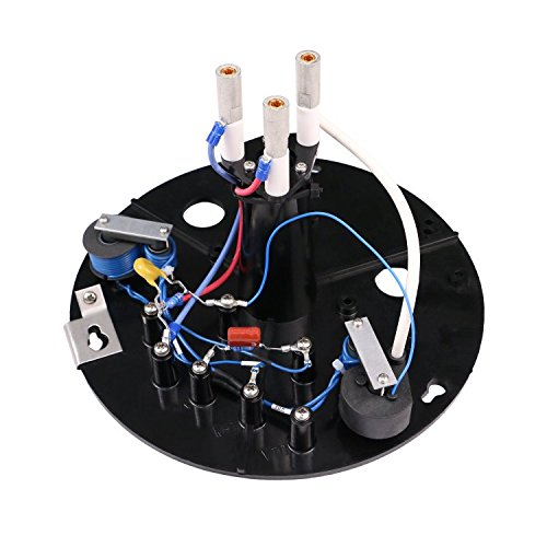 - Flash Technology - Tower Lighting White Flashtube Mounting Assembly Plate (Lower) for Aviation Obstruction Lighting System