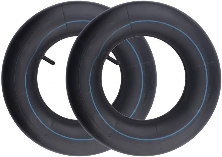 LAXEEM 2Pack 20x8.00-8, 20x10-8 Replacement Inner Tube with TR13 Straight Valve Stem for Golf Cart Mower Tractor Garden Trailer and More