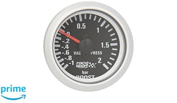 Sumex Blck701 - Manómetro, Color Negro, Presión Turbo,
