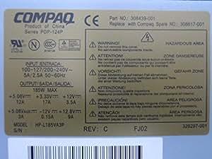 HP Switching power supply (185-Watt) - Fuente de alimentación (185W, D530 SFF)
